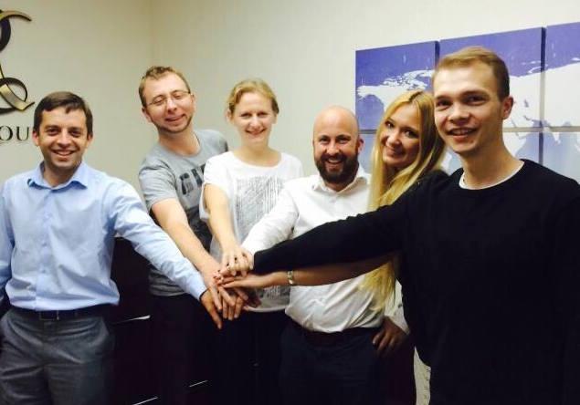 Oleksandr Rhuzetski, Viktor Zagreba, Ksenia Semenova (AVK), Ian Bearder (ITS Ukraine), Ulyana Shtybel (Tesla  Club UA), Taras Synchuk (ITS Ukraine).